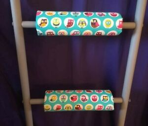 OWLS Padded Bunk Bed Ladder Rung Covers *No-Tool Install*(Safe, Non Slip)