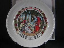 Wedgwood 1984 Children's Stories King Roughbeard Plate