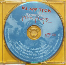 SYMPHONIC PINK FLOYD Sampler PROMO CD EP Us And Them TIME Nobody's Home AMBIENT