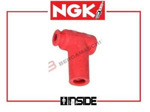 ATTACCO CANDELA NGK LB05EMH R ROSSO R5184 STOCK 8160 KAWASAKI 125 KX 1990 > 1991