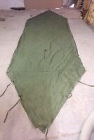 1 Canadian Army Half Shelter,Pup Tent,Ground Sheet,Deer Blind Water Proof+ bonus