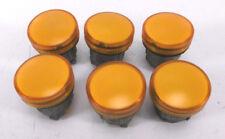 6 x Telemecanique ZB4-BV05 Leuchtmelder gelb