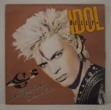 BILLY IDOL Whiplash Smile VINYL LP 33 TOURS Disque Vinyle 830 281-1 France 1986