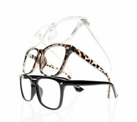 Retro 6 Special Colors Big Square Frame Reading Glasses Acetate Nerd Geek Reader