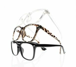 Retro 6 Special Colors Big Square Frame  Nerd Geek Reading Glasses +1.0~+4.0