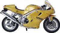 Maisto Triumph Daytona 955i Gold 1:18 Scale Model Motorcycle Motorbike Boxed New