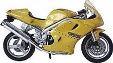 Maisto Triumph Daytona 955i Gold 1:18 Scale Model Motorcycle Motorbike Boxed New