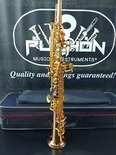 John Packer 243 Gold Lacquer Bb Soprano Sax - Professional