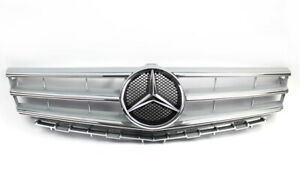 Mercedes-Benz W169 a-Class Mopf Radiator Grille Silver With Stern A1698801783