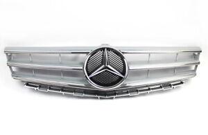 Mercedes-Benz W169 A-Klasse Mopf Grill Kühlergrill Silber mit Stern A1698801783