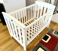 Boori Classic Cot Bed Dropside (White) - Not New