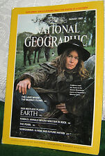 NATIONAL GEOGRAPHIC AUG 1985 THE MURRAY;EARTH;FOSSILS;THE PEARL;SENEGAMBIA