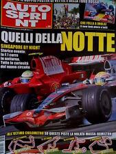 Autosprint 39 2008 F.1 in notturna. GP2: voti finali. Club Toro Rosso SC.58