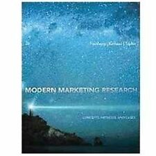 Modern Marketing Research: Concepts, Methods, and Cases (with Qualtrics Printed