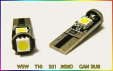 W5W T10 501 3 SMD LED NUMBER PLATE CAN BUS OBC ERROR FREE bulbs FORD