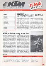 KTM Club News IFMA Spezial 3/94 Kai-Armin Pfefferle Enduro-Training Elba 1994
