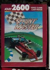 Sprint Master Atari 2600 NEW MINT FACTORY SEALED