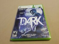 Dark - Xbox 360 Game - Complete & Tested