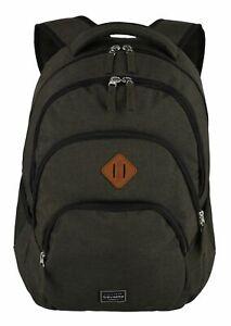 travelite Basic Melange Backpack Rucksack Laptoptasche Tasche Brown Grau
