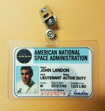 Planet Of The Apes Id Badge -John Landon Cosplay prop costume style B