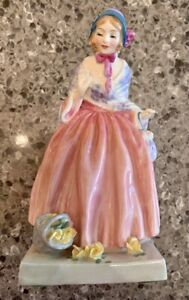 "Vintage Royal Doulton England RARE Miss Fortune HN1897 6"" Figurine Rare Antique"
