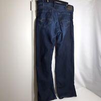 MAVI Matt Relaxed Straight Leg Jeans 36 x 35 Stretch Dark Wash Soft EUC