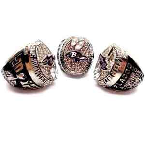 2012 Baltimore Ravens Championship rings NFL