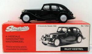 Somerville Models 1/43 Scale 129A - Riley Kestrel - Green