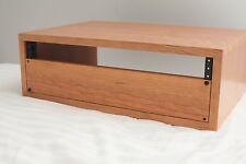 Custom Wood Audio Gear Rack Enclosure - Handmade 2u, 3u, 4u, 6u, 8u, 2 Space