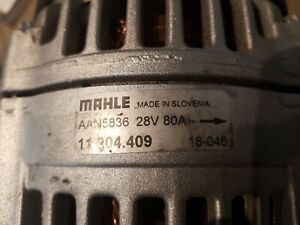 DAMAGED BRAND NEW ALTERNATOR 24V 80A ATLAS DEUTZ KHD BOMAG  ISKRA aan5836
