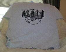 SICK OF IT ALL t-shirt size XL NYHC Agnostic Front Cro-Mags Biohazard Madball