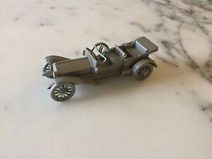 Danbury Mint Pewter Model Car Appx 8cm Long DA16 - 1909 Thomas K6-70