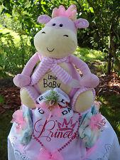 """Windeltorte""""Little Baby und Princess """"Geburt,Taufe,Geburtstag!  rosa"""