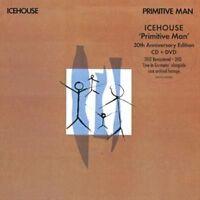 ICEHOUSE Primitive Man CD/DVD BRAND NEW PAL Region All Gatefold Sleeve