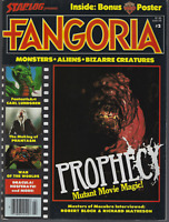 Fangoria Magazine #2 with Doctor Who Poster INTACT! Phantasm Prophecy 1979