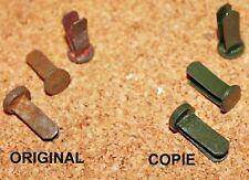 Set 3 rivets pour casque Allemand M16 WWI repro