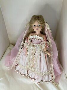 "Pittsburgh Originals, Made in USA Sleeping Beauty Vinyl Doll 14"""