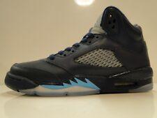 """Nike Air Jordan Retro 5 - """"Hornets's Gs (440888 - 405) Niños Botas De Baloncesto-Reino Unido 5"""