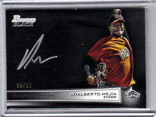 2014 Bowman Black Adalberto Mejia San Francisco Giants Auto /25