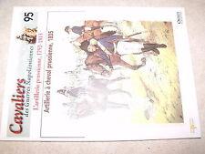 µµ Osprey Cavaliers Guerres Napoleoniennes n°95 Artillerie Prussienne 1792-1815