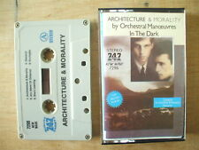 OMD - ARCHITECTURE & MORALITY - MIDDLE EASTERN 747 CASSETTE - TESTED