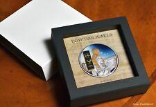 2013 - FIJI $50 - 6th Egyptian Jewels collection - AKHENATEN - 65 mm 2 oz.silver