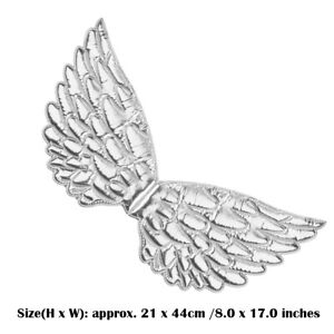Angel Feather Wings Cosplay Christmas Fairy Fancy Dress Costume Event Kid Adults