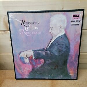 RUBINSTEIN,CHOPIN NOCTURNES VOL 1 &2, RCA VICTOR, FRANCE 645.083/84 BOX SET