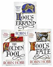 The Tawny Man Trilogy Robin Hobb Collection 3 Books Set Fool's Errand, Fool Fate