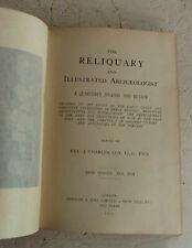 Vintage Buch 1907 die Reliquie Illustrierte Archäologe Vol XIII Antiquitäten
