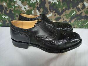 Genuine British Army Highland Issue Service Dress Shoes Brogues / Blakeys - 10 M