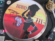 "Toto - Africa Mega Rare 12"" Picture Disc Single Promo Single LP NM (Toto IV)"