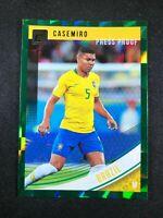 2018-19 Panini Donruss Soccer Casemiro Brazil Madrid #108 Green Press Proof