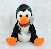 "1997 Coca Cola Collectible Penguin Bean Bag Plush 6"" Stuffed Animal Vintage Toy"